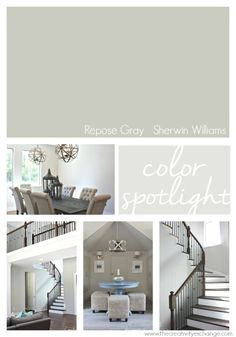 Repose Gray From Sherwin Williams One Of The Most Versatile Colors Out There