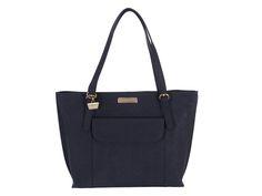 Portobello 'Penelope' Navy Saffiano Leather Handbag | Pure Luxuries