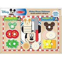 Melissa & Doug Mickey Mouse Clubhouse Wooden Sandwich-Making Set