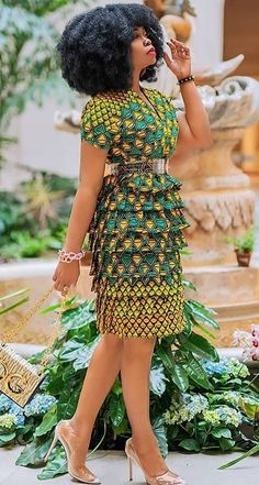 """Ankara Fashion style saved to african fashion trends - Source by rfuweg -"" African Dresses For Kids, Latest African Fashion Dresses, African Dresses For Women, African Print Dresses, African Print Fashion, African Attire, Ankara Fashion, Modern African Dresses, Ankara Dress Styles"