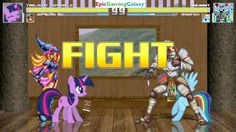 Twilight Sparkle And Dark Magician Girl VS Mummy & Rainbow Dash In A MUGEN Match / Battle / Fight This video showcases Gameplay of Twilight Sparkle From The My Little Pony Friendship Is Magic Series And Dark Magician Girl From The Yu-Gi-Oh! Duel Monsters Series VS Mummy And Rainbow Dash In A MUGEN Match / Battle / Fight