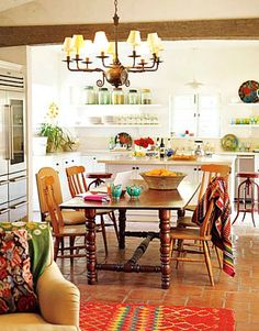 Reece Witherspoon.s Ojai ranch-House Beautiful kitchen