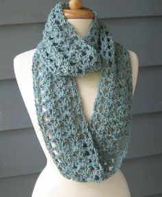 infinity scarf crochet pattern | Shelley Infinity Scarf.. Crochet PATTERN by PurpleStardust on Etsy. $4 ...