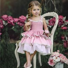 26e5feee8421a Princess Kid Baby Dress For Girls Sleeveless Lace Tutu Dress Party Wedding Holiday  Dresses Baby Girl Clothing