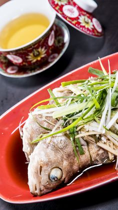 Steam Recipes, Fish Recipes, Seafood Recipes, Asian Recipes, Chicken Recipes, Steam Food Recipe, Pineapple Recipes Healthy, Easy Cooking, Cooking Recipes