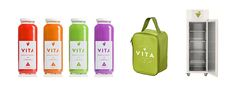 VITA Health & Juice Bar on Packaging Design Served