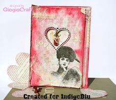 Altered book:LOve is...