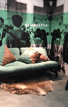 Trendscout IMM Köln 2017 - Stil-Fabrik Blog Christoph Baum Fototapete für den Perfekten Industrie-Look