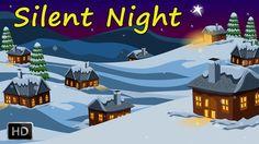 Silent Night Holy Night   Popular Christmas Carol With Lyrics   Top Chri...