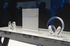 A close-up look at the gorgeous white PlayStation 4 | The Verge