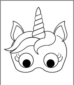 20 Printable Coloring Pages for Unicorns Printable Coloring Pages for Unicorns. 20 Printable Coloring Pages for Unicorns. Just Coloring Mardi Gras Mask Printable Coloring Pages Unicorn Mask, Unicorn Party, Coloring For Kids, Free Coloring, Printable Crafts, Printables, Animal Masks, Holiday Activities, Printable Coloring Pages