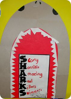 A quick Shark Freebie from Step into 2nd Grade with Mrs. Lemons!