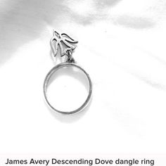 ISO THIS IS NOT FOR SALE!!!! Please help me find this ring!! In search of this James Avery ring in a 4, 4/12 or 5!!!!! Please comment or tag me in a listing when you find it! James Avery Accessories