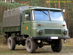 Robur LO 2002 A MTW - NVA, team and material transport, rear services, all-wheel drive - photographed at the International Military Meeting in Rei Jeep Shirts, Jeep Stickers, White Jeep, Beast From The East, Army Vehicles, East Germany, Tactical Gear, Military Aircraft, Cars And Motorcycles