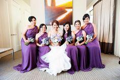 Lavender themed wedding.
