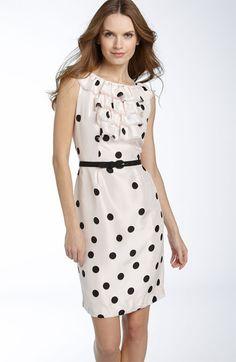 Kate Spade 'Reina' Silk Dress