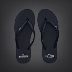 Hollister Co. Bettys Classic Beach Flip Flops These are the best flip flops  in the world because the are cute 0585e5d395f