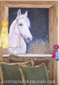 Kristin Plansky Murals | Horse