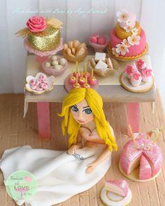 sweet 16 cake topper:) - Cake by Aga Leśniak