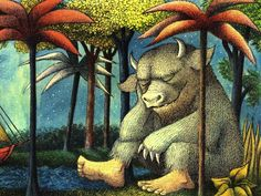 Where the Wild Things Are is a 1963 children's picture book by American writer and illustrator Maurice Sendak, originally published by Harper & Row. Wild Ones, Wild Things, Maurice Sendak, Important Life Lessons, Kids Story Books, Children's Picture Books, Childrens Books, Book Art, Artsy