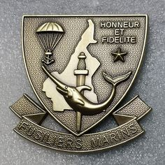Naval Infantry beret badge Cameroon Naval Infantry
