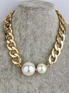 Pearl Jewelry, Wire Jewelry, Jewelry Crafts, Gemstone Jewelry, Beaded Jewelry, Jewelery, Jewelry Necklaces, Handmade Jewelry, Diy Necklace