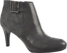 Naturalizer Maureen Ankle Boot - Graphite Lead Fellini Leather/Kid Suede with FREE Shipping & Exchanges. Maureen features a bold buckle detail that updates the classic ankle boot.