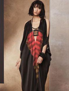 Cold Shoulder Kimono Dress