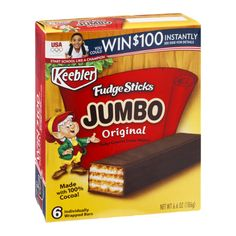 I'm learning all about Keebler Jumbo Fudge Sticks Original - 6 CT at @Influenster!