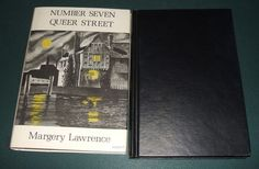 1969 1st Arkham House edition of Number Seven Queer Street by Margery Lawrence