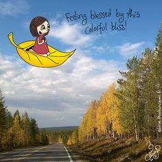 Palasia sateenkaaresta: Roadtrip to Lapland Day 4 - Doodle 3/5