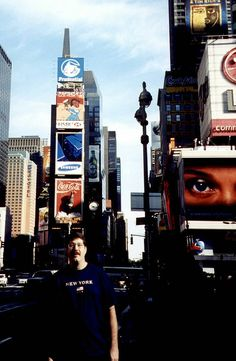 Thats me in Times Square - New...