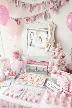 Ballerina Themed Party Ideas! From food to decor we have it all covered for your next little girls party! Capturing-Joy.com