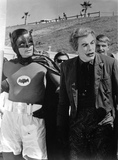 Because it's Saturday, and all Saturday's need Batman.and the only Batman is Adam West. Real Batman, Batman Y Robin, Batman Tv Show, Batman Tv Series, Batman 1966, Batman And Superman, Adam West Batman, Bob Kane, Batgirl