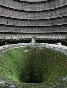 Planta de energía abandonada, Bélgica