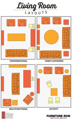 Rearrange the furniture you already have to accommodate the ~vibe~ you want your home to give off. Check out layouts for a bedroom or studio apartment, too!