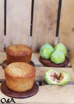 Olio e Aceto: Ricetta muffin ai fichi