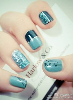 nail nail nail, gorgeous! & the nail length is perfect for me--I want to know where I can get them done here!