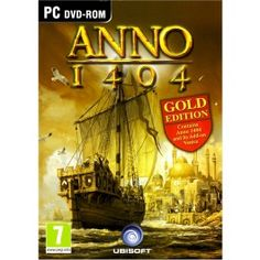 ANNO 1404 GOLD EDITION PC Video Game Special Edition