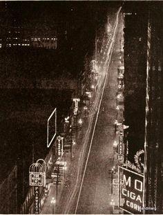 yay! it's toronto! yonge street! in the 1920s!