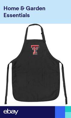 TEXAS TECH University Apron OFFICIAL APRONS UNIQUE TTU LOGO GIFTS Men Or Her! Keukendoeken Koken en tafelen