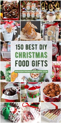 These food DIY Christmas gifts are perfect for family, friends, neighbors, teachers or any food lover in your life! There are homemade gift ideas for snacks, spreads, baked goods, mixes, candies and much more