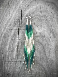 Image result for how to make wing like earrings with beads