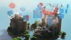 Iaven Magic Of Colors Map Minecraft Adventure - Minecraft maps fur kinder