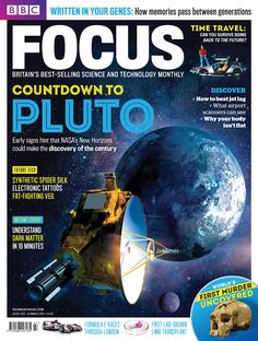 The latest issue of Focus Magazine on sale from today. The discovery of the century that's about to be made on Pluto. Plus can you survive going back to the future? www.sciencefocus.com