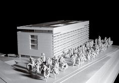 gabriel allende orange book. Architecture. 12 Projects. Realities and Fiction. Iris Building, Madrid. Model