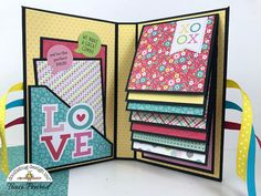 Artsy Albums Mini Album and Page Layout Kits and Custom Designed Scrapbooks by T. - Artsy Albums Mini Album and Page Layout Kits and Custom Designed Scrapbooks by Traci Penrod: Waterf - Mini Album Scrapbook, Scrapbook Cover, Birthday Scrapbook, Scrapbook Pages, Diy Scrapbook, Mini Photo Albums, Mini Albums Scrap, Handmade Scrapbook, Scrapbook Designs