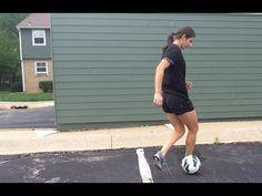 Rollover, Stepover Soccer Footwork | YFutbol