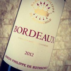Baron de Philippe Rothschild Bordeaux 2012 (Netto): zu sauer, zu kompliziert