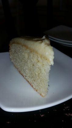 Vanilla Cake With Vanilla Buttercream Icing (Click Twice For Link To Recipe)